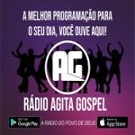 Logo da emissora Rádio Agita Gospel