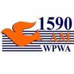 Logo da emissora WPWA 1590 AM