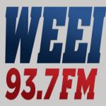 Logo da emissora WEEI 103.7 FM