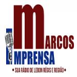 Logo da emissora Rádio Marcos Imprensa