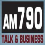 Logo da emissora WSKO 790 AM