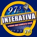 Logo da emissora Rádio Interativa 97.5 FM