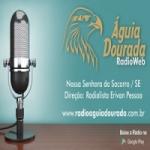 Logo da emissora Rádio Águia Dourada