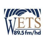 Logo da emissora WETS 89.5 FM
