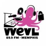 Logo da emissora WEVL 89.9 FM