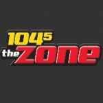 Logo da emissora WGFX 104.5 FM
