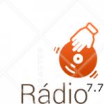 Logo da emissora Rádio 7.7