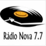 Logo da emissora Rádio Nova  7.7