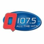 Logo da emissora WHBQ 107.5 FM