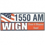Logo da emissora WIGN 1550 AM