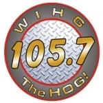 Logo da emissora WIHG 105.7 FM