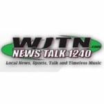 Logo da emissora WJTN 1240 AM