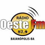 Logo da emissora Rádio Oeste 87.9 FM