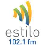 Logo da emissora Rádio Estilo 102.1 FM