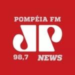 Logo da emissora Rádio Jovem Pan News 98.7 FM