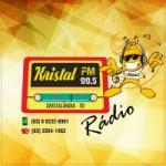 Logo da emissora Rádio Kristal FM
