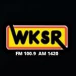 Logo da emissora WKSR 98.3 FM