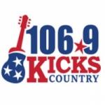 Logo da emissora WKXD 106.9 FM