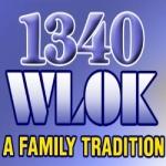 Logo da emissora WLOK 1340 AM