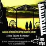Logo da emissora Rádio Alma de Campo