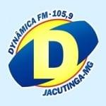 Logo da emissora Rádio Dynâmica 105.9 FM