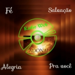 Logo da emissora Rádio Web Adonai