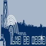 Logo da emissora Rádio Nova Ilha Gospel