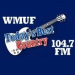 Logo da emissora WMUF 1000 AM