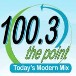 Logo da emissora WKBE 100.3 FM