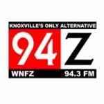 Logo da emissora WNFZ 94.3 FM