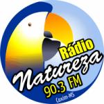 Logo da emissora Rádio Natureza 90.3 FM