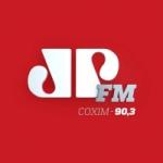 Logo da emissora Rádio Jovempan 90.3 FM