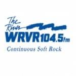 Logo da emissora WRVR 104.5 FM