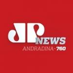 Logo da emissora Rádio Jovem Pan News 760 AM