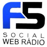 Logo da emissora Web Rádio F5 Social