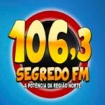 Logo da emissora Rádio Segredo 106.3 FM