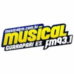 Logo da emissora Rádio Musical 93.1 FM