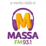 Logo da emissora Rádio Massa 93.1 FM