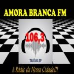 Logo da emissora Rádio Amora Branca 106.3 FM