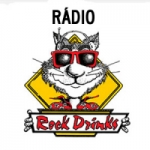 Logo da emissora Rádio Rock Drinks