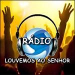 Logo da emissora Rádio Louvemos ao Senhor