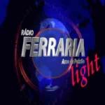 Logo da emissora Rádio Ferraria Light
