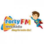 Logo da emissora Web Rádio Forty FM