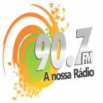 Logo da emissora Rádio 90.7 FM Nossa Rádio