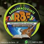 Logo da emissora Rádio Braço Forte