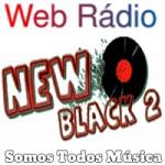 Logo da emissora Web Rádio New Black 2