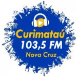 Logo da emissora Rádio Curimatau 103.5 FM