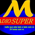 Logo da emissora Rádio Super Mania