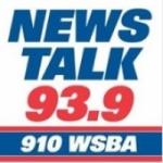 Logo da emissora WSBA 910 AM