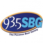 Logo da emissora WSBG 93.5 FM